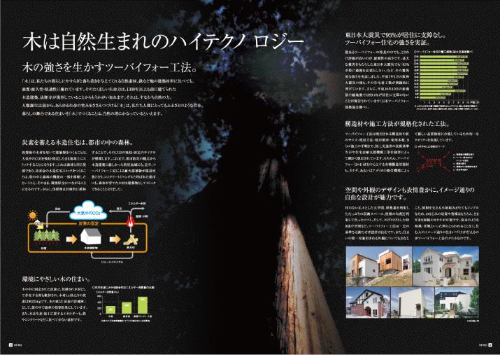 大阪ガス住宅設備様 2×4パンフ