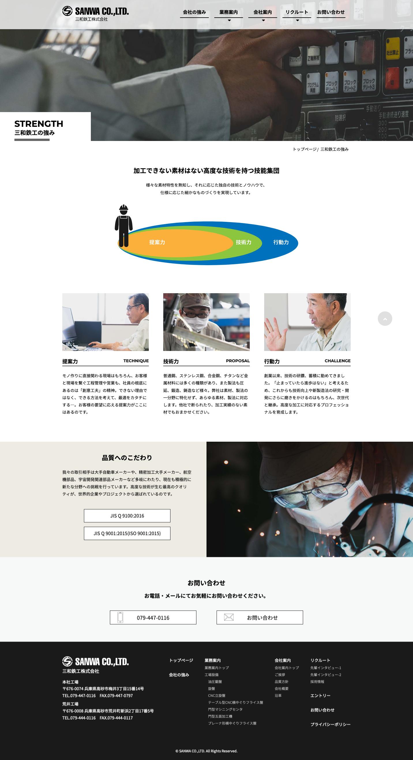 三和鉄工株式会社WEB SITE